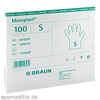 MANUPLAST EINM HAND PE K, 100 ST, B. Braun Melsungen AG