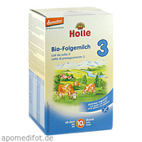 Holle Bio Säuglings-Folgemilch 3, 600 G, Holle baby food AG