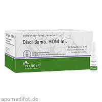 Disci Bamb HOM Inj. 1ml, 50 ST, Homöopathisches Laboratorium Alexander Pflüger GmbH & Co. KG