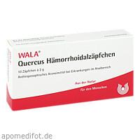 QUERCUS-HAEMORRHOIDALZAEPF, 10X2 G, Wala Heilmittel GmbH