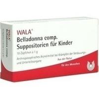 BELLADONNA COMP KSUPP, 10X1 G, Wala Heilmittel GmbH