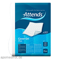 Attends Cover Dri Plus 40x60, 50 ST, Attends GmbH