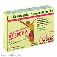 Grünwalder Spurenelemente, 30 ST, Grünwalder Gesundheitsprodukte GmbH