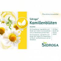 SIDROGA KAMILLENBLUETE, 20X1.5 G, Sidroga Gesellschaft Für Gesundheitsprodukte mbH