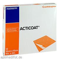 Acticoat Antimikrobieller Verband 10x10cm, 12 ST, Smith & Nephew GmbH