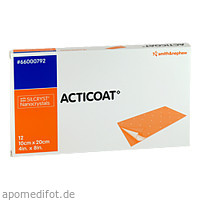 Acticoat Antimikrobieller Verband 10x20cm, 12 ST, Smith & Nephew GmbH