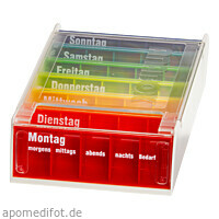 ANABOX 7 Tage Regenbogen, 1 ST, Wepa Apothekenbedarf GmbH & Co. KG