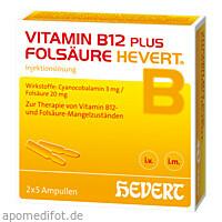 VITAMIN B12 FOLS HEVERT, 2X5 ST, Hevert Arzneimittel GmbH & Co. KG
