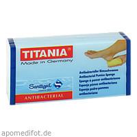 Bimsschwamm Antibakteriell Titania, 1 ST, Axisis GmbH