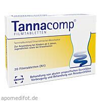 TANNACOMP, 20 ST, Medice Arzneimittel Pütter GmbH & Co. KG