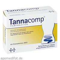 TANNACOMP, 50 ST, Medice Arzneimittel Pütter GmbH & Co. KG