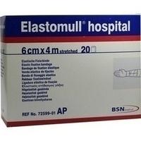 Elastomull hospital 4mx6cm, 20 ST, Bsn Medical GmbH