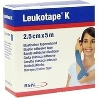 Leukotape K 2.5cm blau, 1 ST, Bsn Medical GmbH
