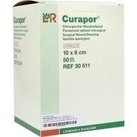 Curapor Wundverband steril 10x8cm, 50 ST, Bios Medical Services GmbH
