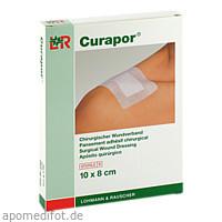 Curapor Wundverband steril 10x8cm, 5 ST, Bios Medical Services GmbH