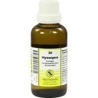HYSSOPUS KOMPL NESTM 30, 50 ML, Nestmann Pharma GmbH