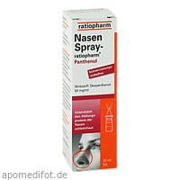 Nasenspray-ratiopharm Panthenol, 20 ML, ratiopharm GmbH