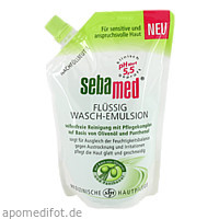 Sebamed flüssig Wasch-Emulsion m. Olive Nachfüllp., 400 ML, Sebapharma GmbH & Co. KG