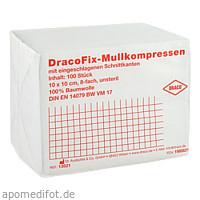 DRACOFIX OP KOM unsteril 10X10 8fach, 100 ST, Dr. Ausbüttel & Co. GmbH