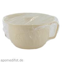 Nachttopf mit Deckel 22cm, 1 ST, Dr. Junghans Medical GmbH