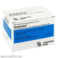 Ampuwa (Plastikampulle), 20X5 ML, Fresenius Kabi Deutschland GmbH