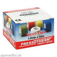 Pressotherm Sport-Tape rot 3.8cmx10m, 1 ST, Abc Apotheken-Bedarfs-Contor GmbH