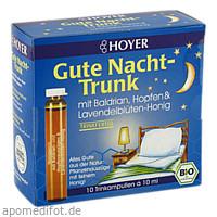 HOYER Gute Nacht-Trunk, 10X10 ML, HOYER GmbH