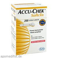 Accu Chek Softclix Lancetten, 200 ST, kohlpharma GmbH