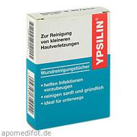 YPSILIN Wundreinigungstücher, 5 ST, Holthaus Medical GmbH & Co. KG