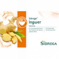 Sidroga Ingwer, 20X0.75 G, Sidroga Gesellschaft Für Gesundheitsprodukte mbH