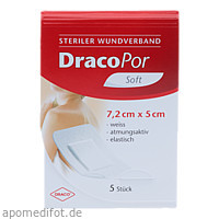 DRACOPOR Wundverband steril 5cmx7.2cm, 5 ST, Dr. Ausbüttel & Co. GmbH