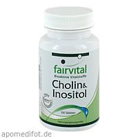 Cholin+Inositol, 100 ST, Fairvital B. V.