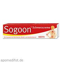 Sogoon Schmerzcreme, 100 G, Aristo Pharma GmbH