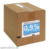 Isotonische NaCl 0.9% DELTAMEDICA Plastikinf., 10X500 ML, DELTAMEDICA GmbH