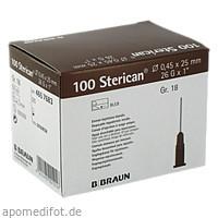 STERICAN 0.45X25 BRAUN L L, 100 ST, B. Braun Melsungen AG