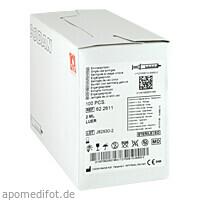 BRAUN INJ SPR LUERK ZENT, 100X2 ML, B. Braun Melsungen AG