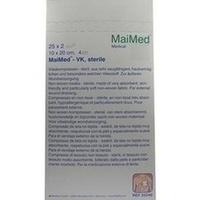 Vlieskompressen 10x20 4-fach steril, 25X2 ST, Maimed GmbH -Bereich Vertrieb-