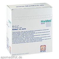 Vlieskompressen 10x10 4-fach steril, 25X2 ST, Maimed GmbH -Bereich Vertrieb-