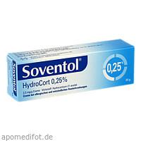 SOVENTOL Hydrocort 0,25% Creme, 20 G, MEDICE Arzneimittel Pütter GmbH&Co.KG