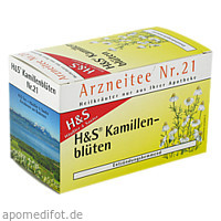 H&S KAMILLENTEE, 20X1.5 G, H&S Tee - Gesellschaft mbH & Co.