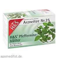 H&S PFEFFERMINZTEE, 20X1.5 G, H&S Tee - Gesellschaft mbH & Co.