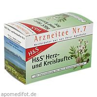 H&S HERZ KREISLAUF TEE, 20X2.0 G, H&S Tee - Gesellschaft mbH & Co.