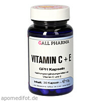 Vitamin C+E GPH Kapseln, 30 ST, Hecht-Pharma GmbH