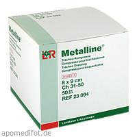 METALLINE TRACHEO 8X9, 50 ST, Lohmann & Rauscher GmbH & Co. KG