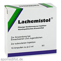 LACHEMISTOL, 10 ST, Wiedemann Pharma GmbH