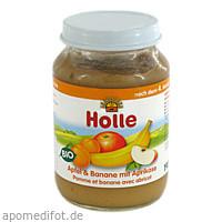 Holle Apfel&Banane mit Aprikose, 190 G, Holle baby food AG