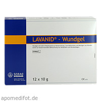 LAVANID-Wundgel, 12X10 G, Serag-Wiessner GmbH & Co. KG