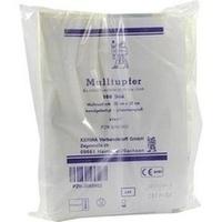 MULLTUPFER STERIL 20x20CM PFLAUMENGROSS, 100 ST, Kerma Verbandstoff GmbH