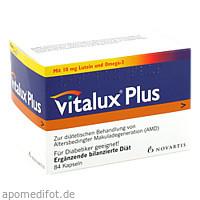 Vitalux Plus Lutein u. Omega3 Kapseln, 84 ST, Junek Europ-Vertrieb GmbH Zweigniederlassung