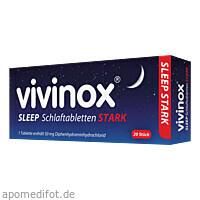 Vivinox Sleep Schlaftabletten Stark, 20 ST, Dr. Gerhard Mann